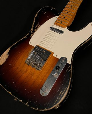 Guitar – Masterbuilt Wildwood 10 1955 Telecaster by Todd Krause – Heavy Relic